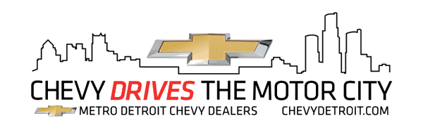 Chevy Drives the Motor City Logo